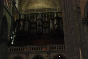 Orgel van de St. Maartenkathedraal in Ieper