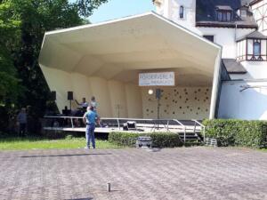 Konzertmuschel am Rhein