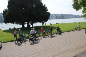 Publiek am Rheinanlage