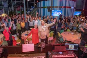 Gerard Breas 50 jaar dirigent - Foto Rolf van Koppen