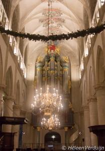 Interieur Grote Kerk Breda